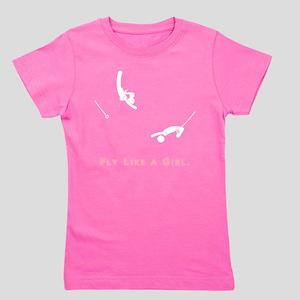 Fly like a girl (White) T-Shirt