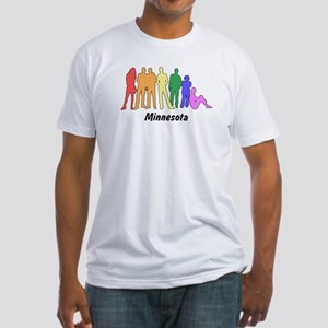 Minnesota diversity Fitted T-Shirt