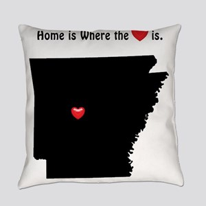 Home is Where the Heart Is Everyday Pillow