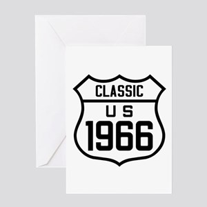 Classic US 1966 Greeting Cards