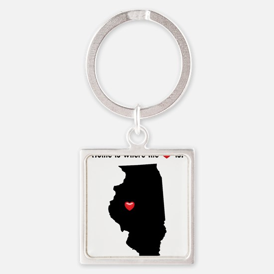 Home is Where the Heart Is Keychains