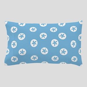 Sand Dollars on Aquamarine Pillow Case