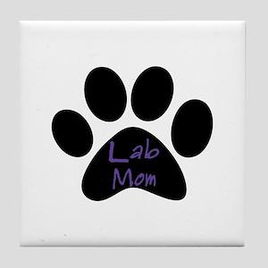 Lab Mom Tile Coaster