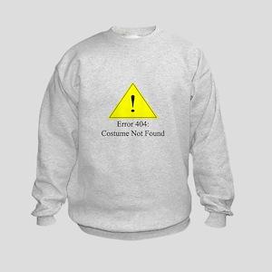 Error 404: Costume Not Found Sweatshirt