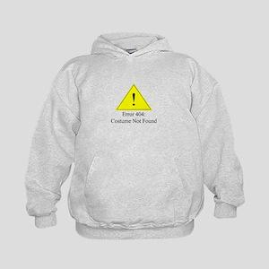Error 404: Costume Not Found Hoodie