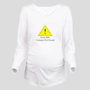 Error 404: Costume Not Found Long Sleeve Maternity