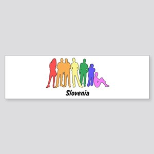 Slovenia diversity Bumper Sticker