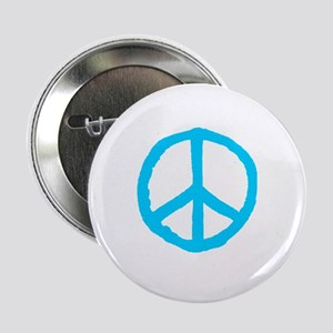 "Rough Peace Symbol 2.25"" Button"