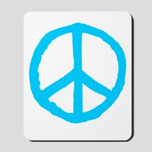 Rough Peace Symbol Mousepad