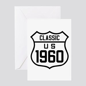 Classic US 1960 Greeting Cards