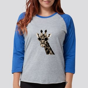 Giraffe With Steampunk Sunglasses Goggles Long Sle