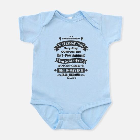 I'm A Green Infant Bodysuit