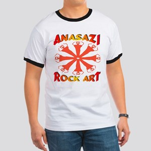 Anasazi Rock Art Ringer T