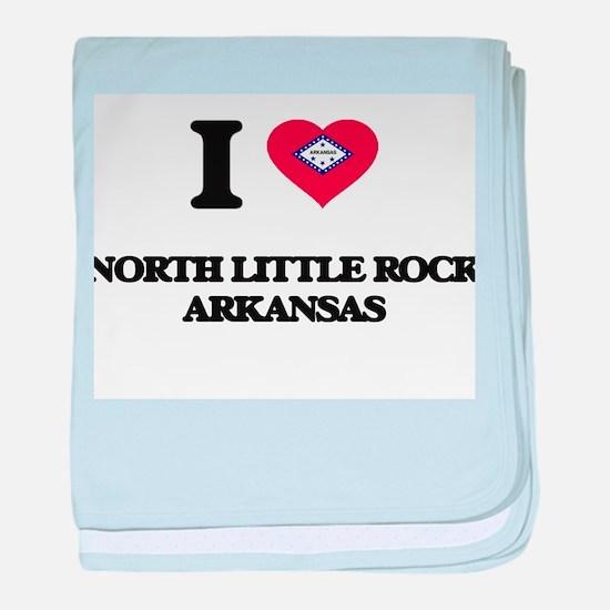 I love North Little Rock Arkansas baby blanket