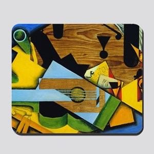 Still Life with a Guitar by Juan Gris Mousepad