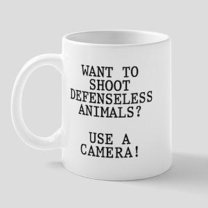 Want to shoot Mug
