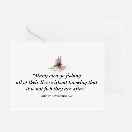 Why we fish Greeting Card