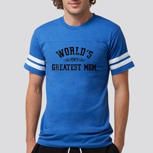 World's Greatest Mom Mens Football Shirt