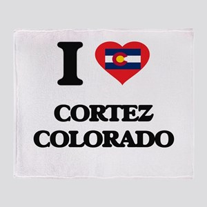 I love Cortez Colorado Throw Blanket