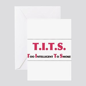 tits Greeting Cards