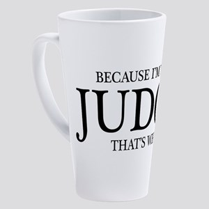 I'm The Judge 17 oz Latte Mug