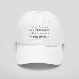 Commas Save Lives Cap