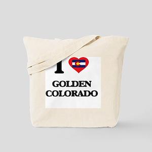 I love Golden Colorado Tote Bag