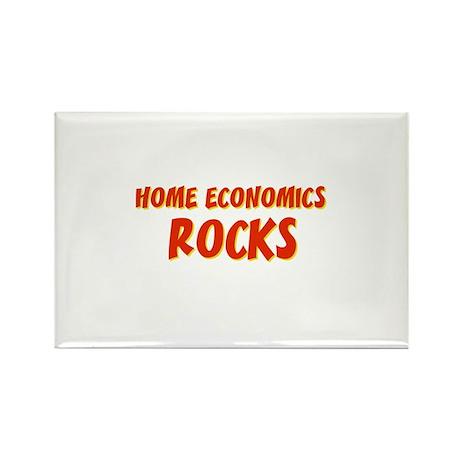 Home Economics~Rocks Rectangle Magnet