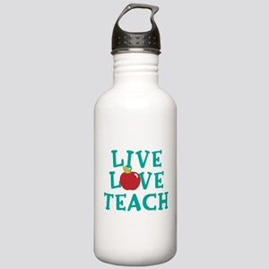 Live,Love, Teach Stainless Water Bottle 1.0L