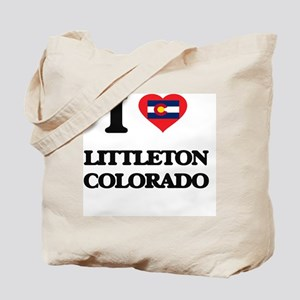 I love Littleton Colorado Tote Bag