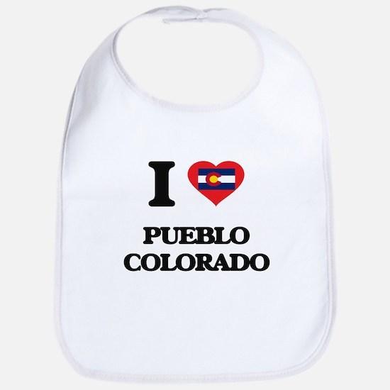 I love Pueblo Colorado Bib