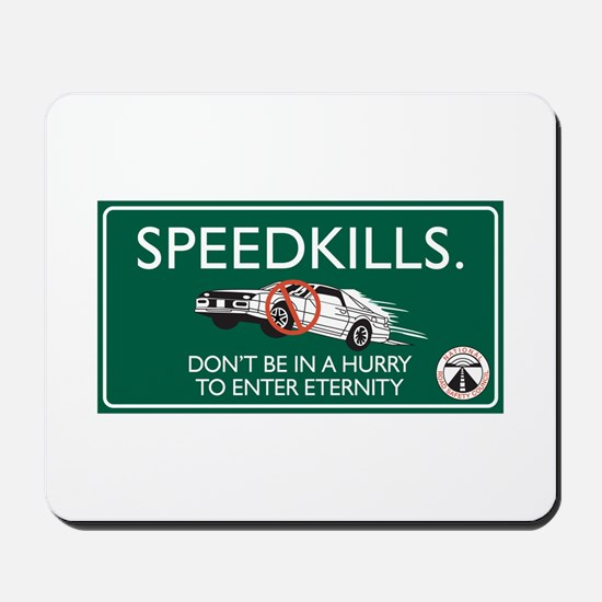 Speed Kills, Jamaica Mousepad