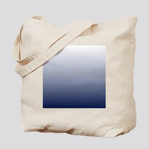 ombre navy blue Tote Bag
