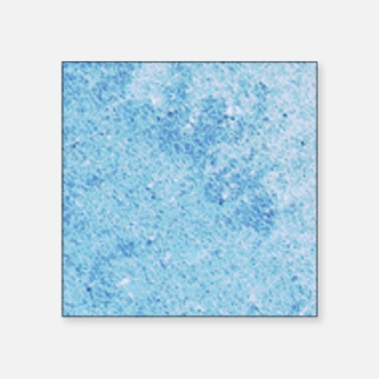 "Crystal Blue Persuasion Square Sticker 3"" x 3"""