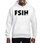 FSIH Fish Poker Shirt Hooded Sweatshirt