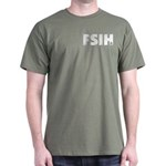 FSIH Fish Poker Shirt Dark T-Shirt