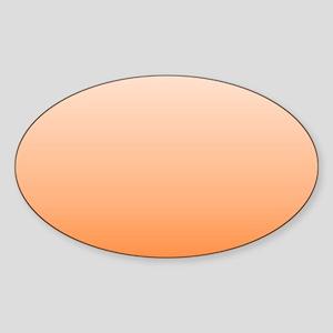 ombre Orange tangerine Sticker