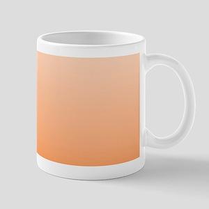 ombre Orange tangerine Mugs