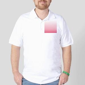 ombre blush pink Golf Shirt