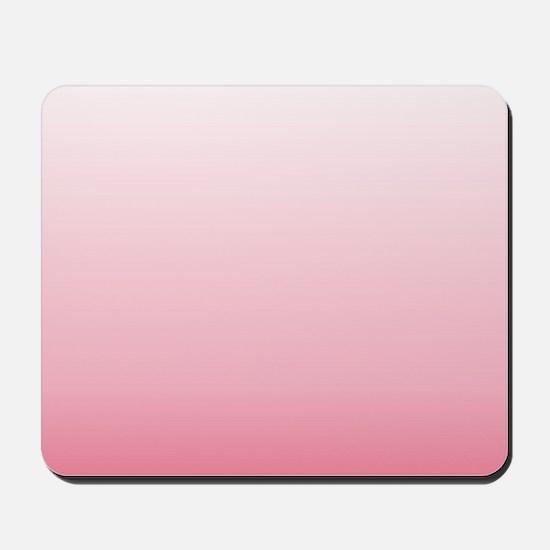 ombre blush pink Mousepad