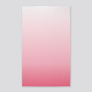 ombre blush pink Area Rug