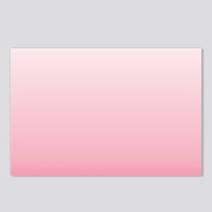 ombre blush pink Postcards (Package of 8)