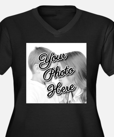 CUSTOM Your Photo Here Plus Size T-Shirt