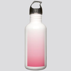 ombre blush pink Stainless Water Bottle 1.0L