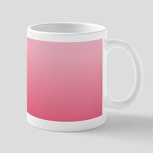 ombre blush pink Mugs