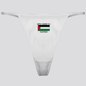 Happily Married to a Palestine Classic Thong