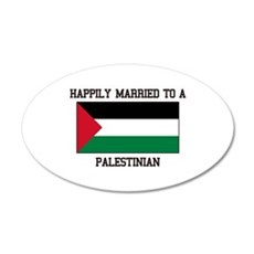 Happily Married to a Palestine Wall Decal