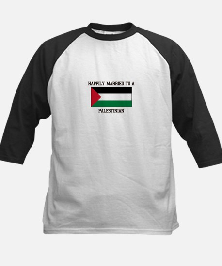 Happily Married to a Palestine Baseball Jersey