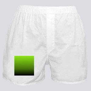 ombre lime green Boxer Shorts