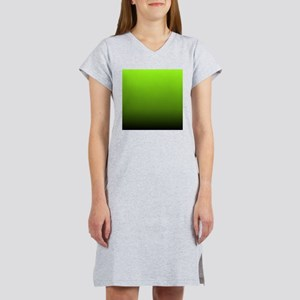 ombre lime green Women's Nightshirt